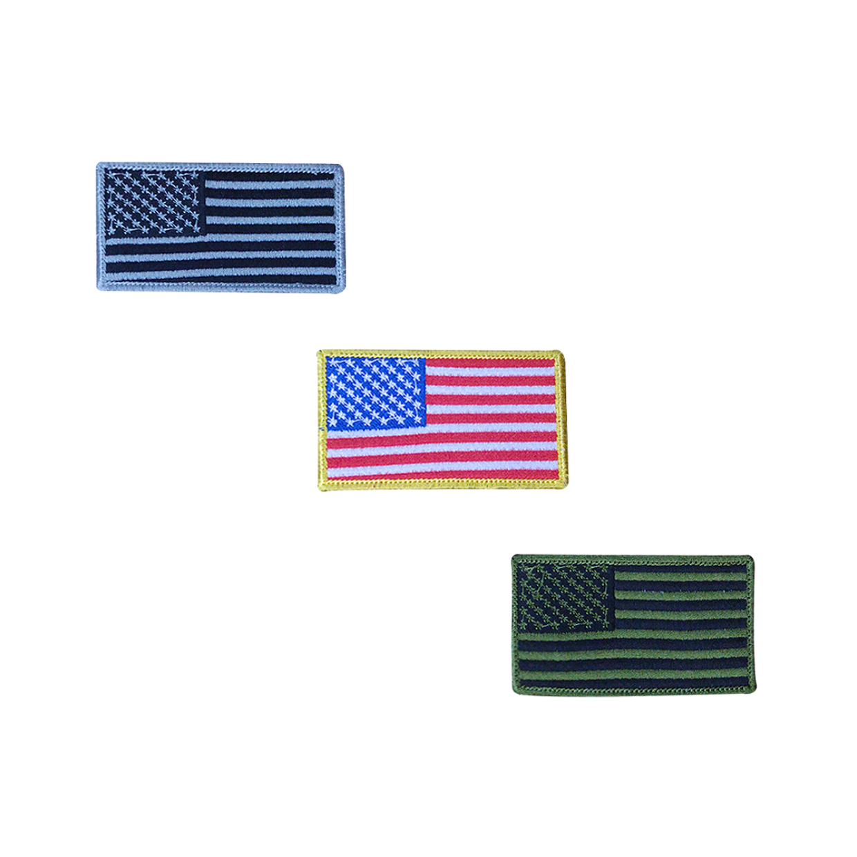 US Flag Embroidery Patch