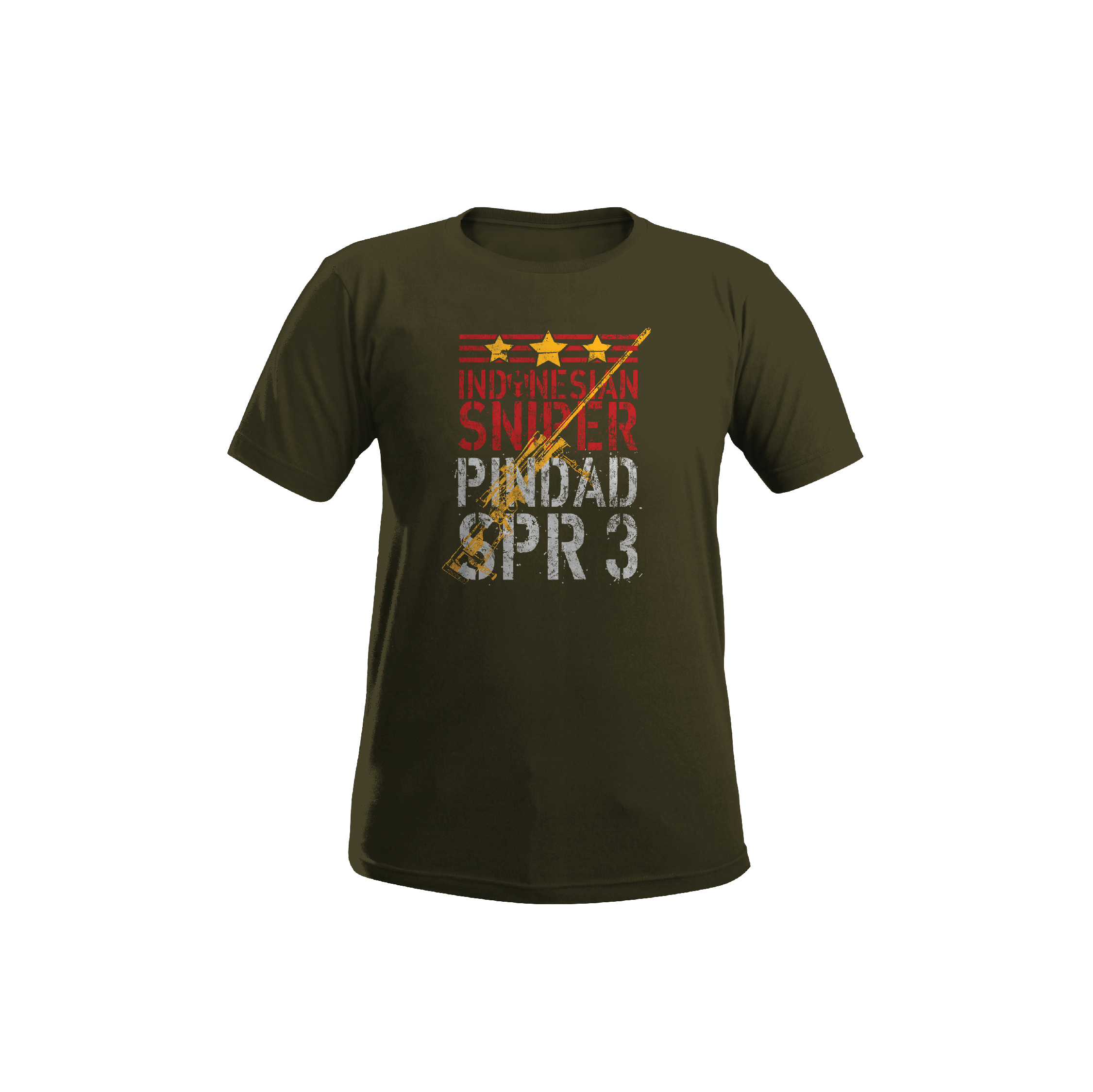 Indonesian Sniper Pindad ISP SPR 3 T-Shirt